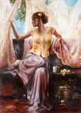 Morning Splendor Poster by Ron DiScenza