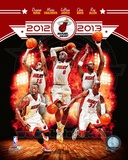Miami Heat 2012-13 Team Composite Photo