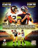 Ben Roethlisberger Pittsburgh Steelers All-time Passing Leader Composite Photo