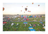 Tilt Shift New Mexico Balloons Limited Edition by Richard Silver