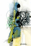 Zone Bleue Prints by Sylvie Cloutier