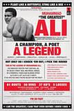 Muhammad Ali - Career Vintage Posters