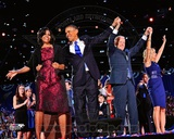 US President Barack Obama, First Lady Michelle, Vice-President Joe Biden and Second Lady Jill Biden Photo