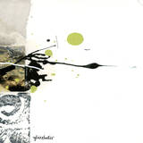Green Abstract Trio III Prints by Sylvie Cloutier