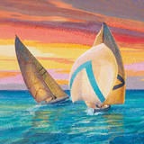 Spinnaker Prints by Adriano Galasso
