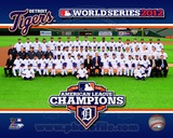 The Detroit Tigers 2012 American League Champions Team Photo Photo
