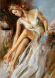 Woman Primavera Prints by Ron Di Scenza