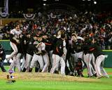 The San Francisco Giants Celebrate Winning Game 4 of the 2012 World Series Photo