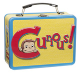 Curious George Large Tin Lunchbox Lunch Box