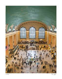 Grand Central From Above II Limited Edition by Richard Silver