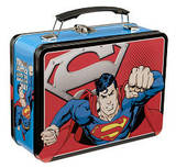 Superman Man of Steel Large Tin Lunchbox Lunch Box