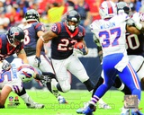 Arian Foster 2012 Action Photo