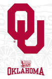 University of Oklahoma Sooners Logo Plakater