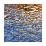 Liquid Gold Square 2 Giclee Print by Joy Doherty