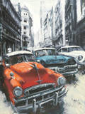 Havana Vintage Classic Cars II Prints by Antonio Massa