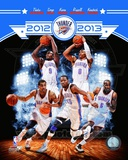 Oklahoma City Thunder 2012-13 Team Composite Photo