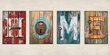 hjem Plakater av Janie MacDowell