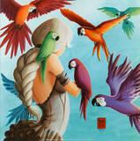 Envol Tropical Posters par  Misstigri