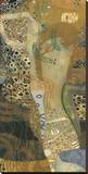 Sea Serpent II, 1907 Stretched Canvas Print by Gustav Klimt