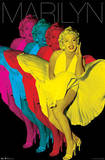 Marilyn Monroe - Colorful Pop Art Photo