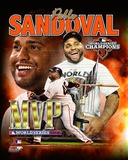 Pablo Sandoval 2012 World Series MVP Portrait Plus Photo