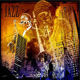 Jazz in the City Print