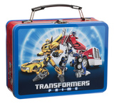 Transformers Prime Large Tin Lunchbox Lunch Box