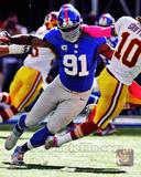 Justin Tuck 2012 Action Photo