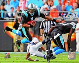 Cam Newton 2012 Action Photo