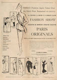 1950's Fashion - Fashion Show Posters by Odette Lafontaine