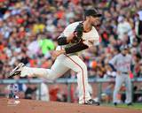 Madison Bumgarner Game 2 of the 2012 MLB World Series Action Photo