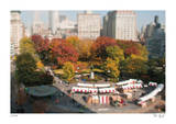 Tilt Shift Union Square Park Limited Edition by Richard Silver