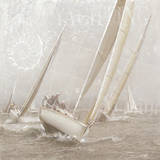 Yachting II Print by Enrico Sestillo