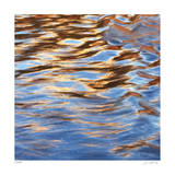 Liquid Gold Square 1 Giclee Print by Joy Doherty