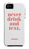 Don't Drink and Text - Glamour iPhone 4/4s Cover iPhone 4/4S Case