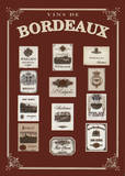 Bordeaux Prints