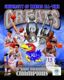 University of Kansas Jayhawks All Time Greats Composite Photo