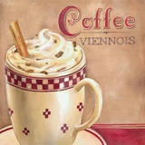 Coffee Viennois Print by Elisa Raimondi