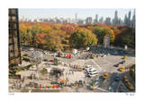 Tilt Shift Columbus Circle Edition limitée par Richard Silver