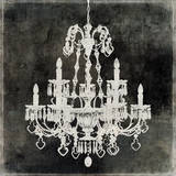 Chandelier II Prints by Oliver Jeffries