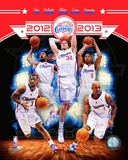 Los Angeles Clippers 2012-13 Team Composite Photo