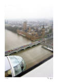 Tilt Shift London Eye Limited Edition by Richard Silver