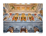 Library of Congress II Limited Edition by Richard Silver