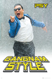 Psy Gangnam Snow Prints