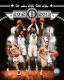Brooklyn Nets 2012-13 Team Composite Photo