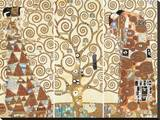 Spełnienie Płótno naciągnięte na blejtram - reprodukcja autor Gustav Klimt