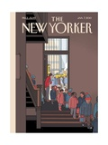 The New Yorker Cover - January 7, 2013 Giclee Print by Chris Ware