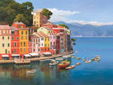 Portofino, Italian Riviera Prints by Adriano Galasso
