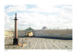 Tilt Shift Hermitage St. Petersburg Limited Edition by Richard Silver