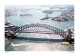 Tilt Shift Sydney Bridge Limited Edition by Richard Silver